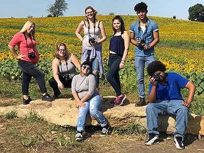 Grinter's Sunflower Field Trip